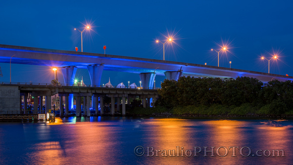 Miami Blue Bridge
