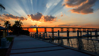Caloosahatchee-river-Downtown-Fort-Myers-Florida