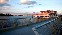 Caloosahatchee-river-Downtown-Fort Myers-Florida