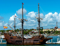 Saint Augustine Florida, El Galleon, Saint Augustine Bridge of Lions