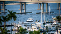 Caloosahatchee River, Downtown Fort Myers, Florida