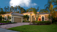 Southwest Florida Residential Exteriors, Pulte model homes