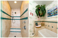 Master Bath Photo Collage